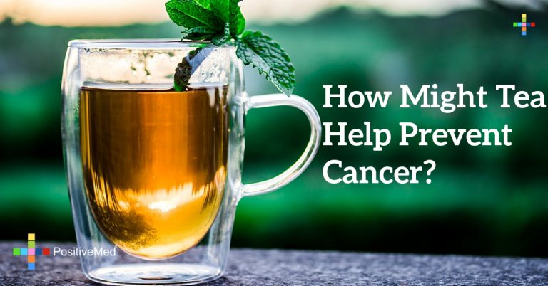 How might tea help prevent cancer?