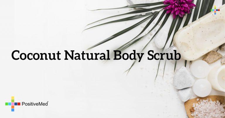 Coconut Natural Body Scrub