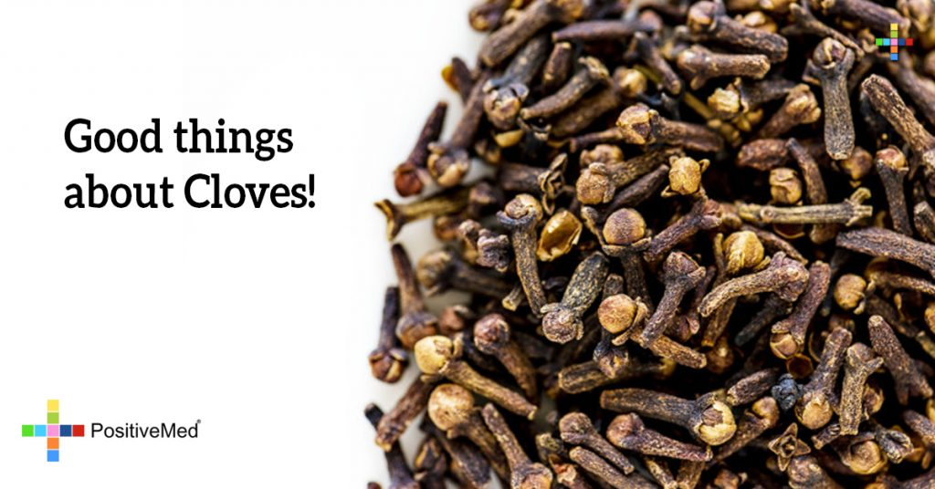 Good things about Cloves!