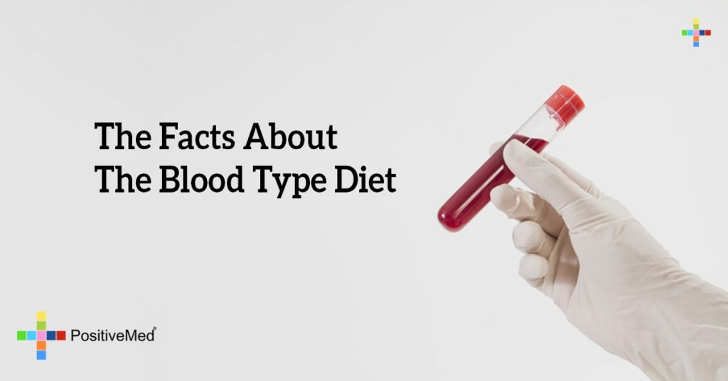 The Facts About The Blood Type Diet