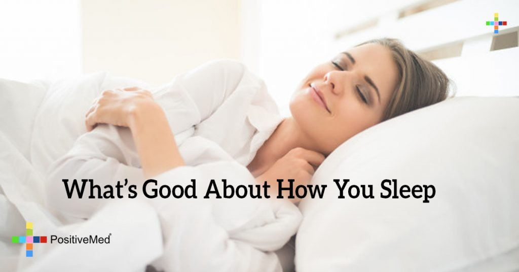 What's Good About How You Sleep