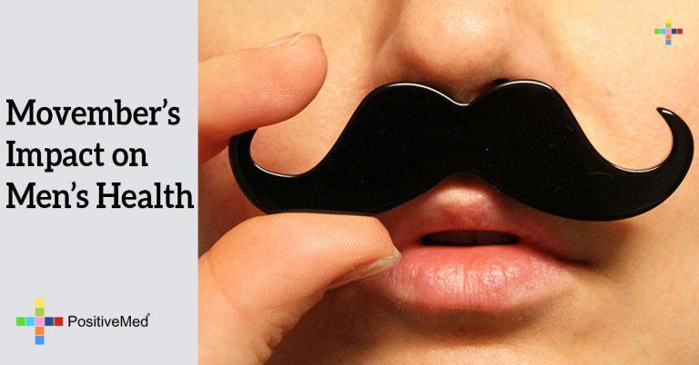 Movember's impact on men's health