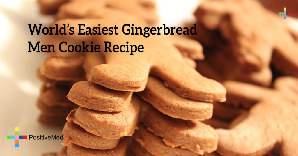 World's Easiest Gingerbread Men Cookie Recipe