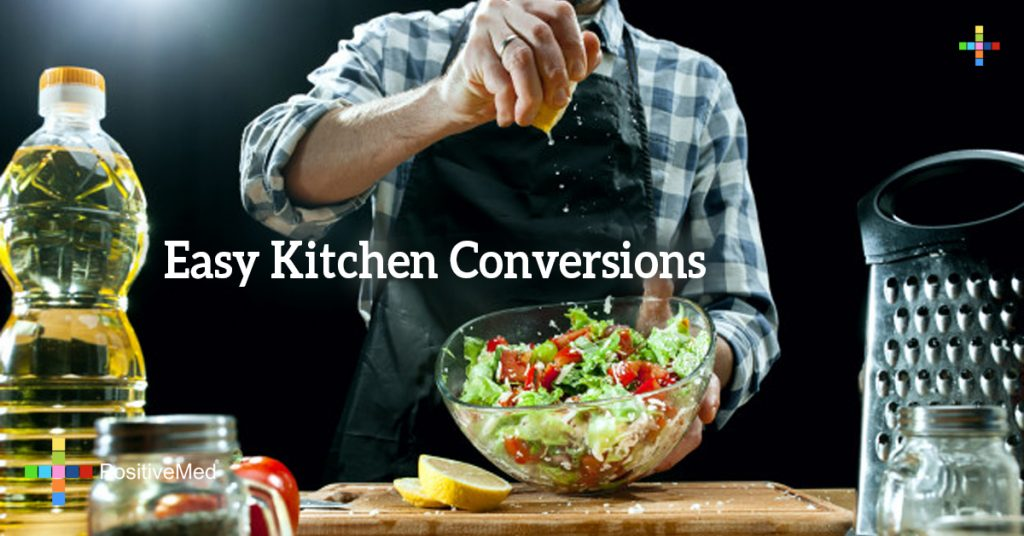 Easy Kitchen Conversions